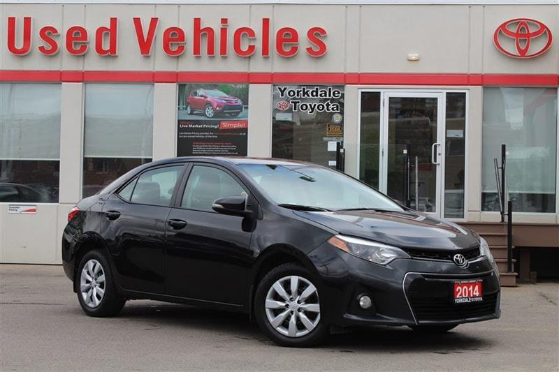 2014 Toyota Corolla S- Bluetooth  Backup Cam  Cruise  Heated Seats  A/ #P7282