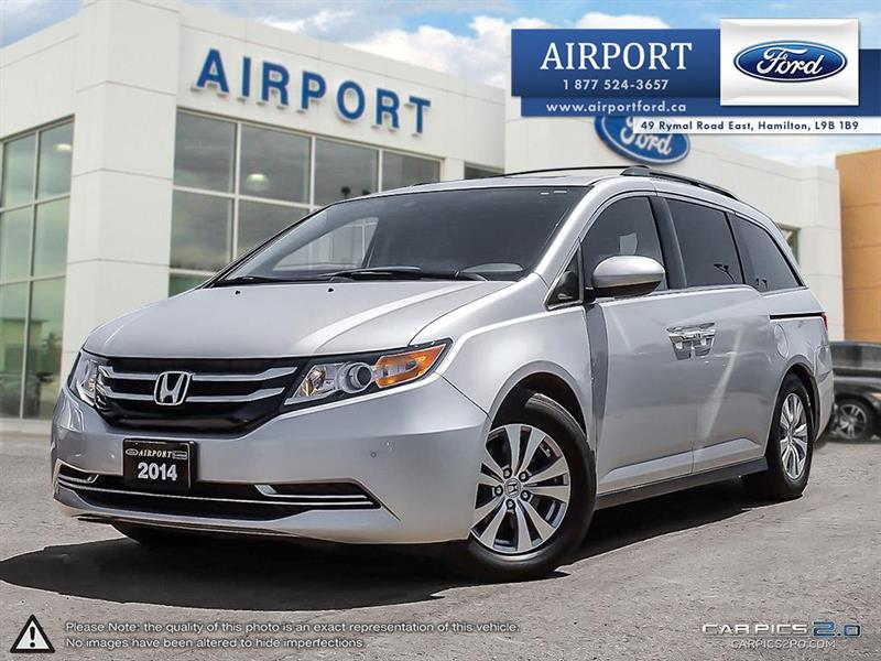 2014 Honda Odyssey EX-L FWD with only 86,871 kms #A80603