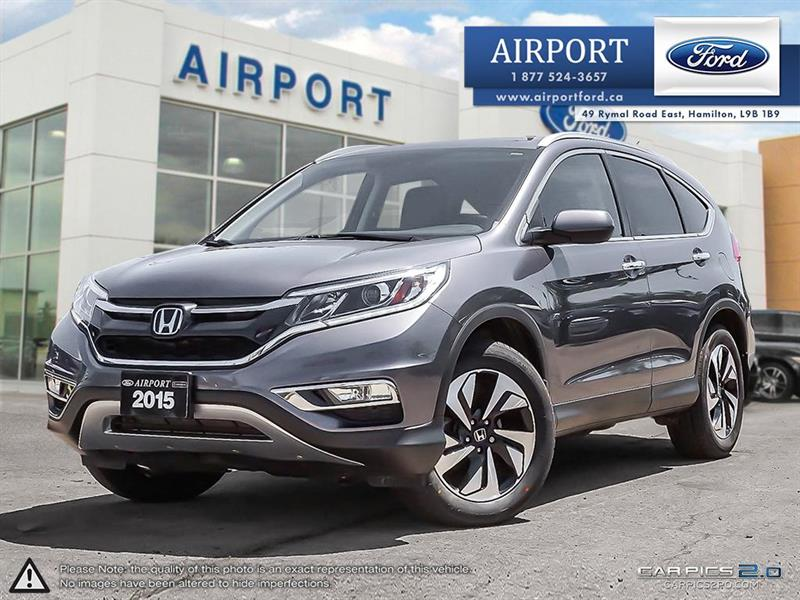 2015 Honda CR-V AWD Touring with only 83,939 kms #A80602