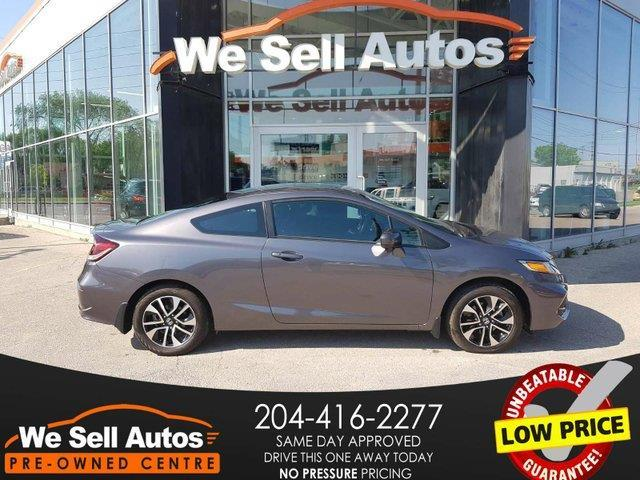 2015 Honda Civic Coupe EX #15HC00408