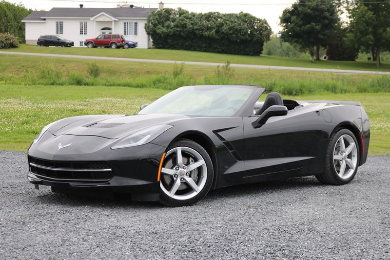 Chevrolet Corvette Stingray 2014 Convertible Automatique 1LT (GPS)