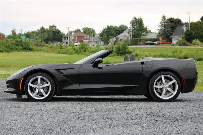 chevrolet corvette stingray convertible automatique 1lt gps 2014 occasion vendre saint. Black Bedroom Furniture Sets. Home Design Ideas
