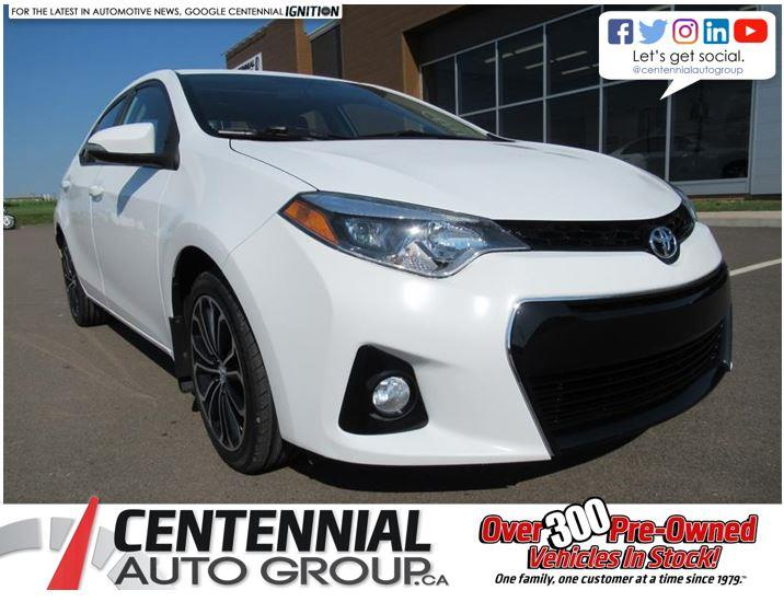 2014 Toyota Corolla S | 6 Speed Manual | Sunroof #U521