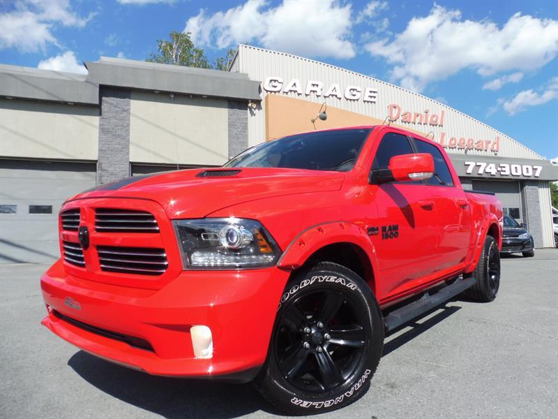 Dodge Ram 1500 2016 SPORT, CREW CAB, GPS TOIT, 20 POUCES, À VOIR  #67569