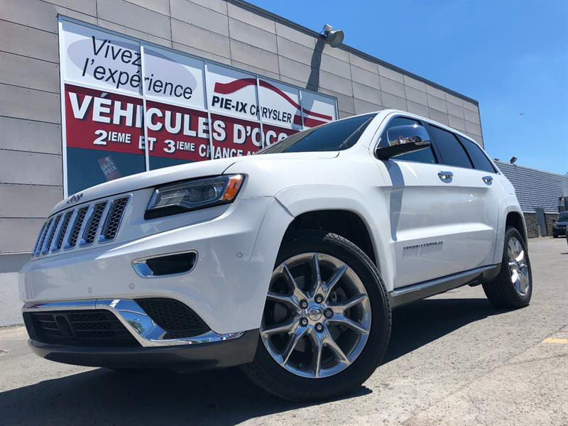 Jeep Grand Cherokee 2016 4WD+Summit+DIESEL+TOIT PANO+MAGS+WOW! #UD4718