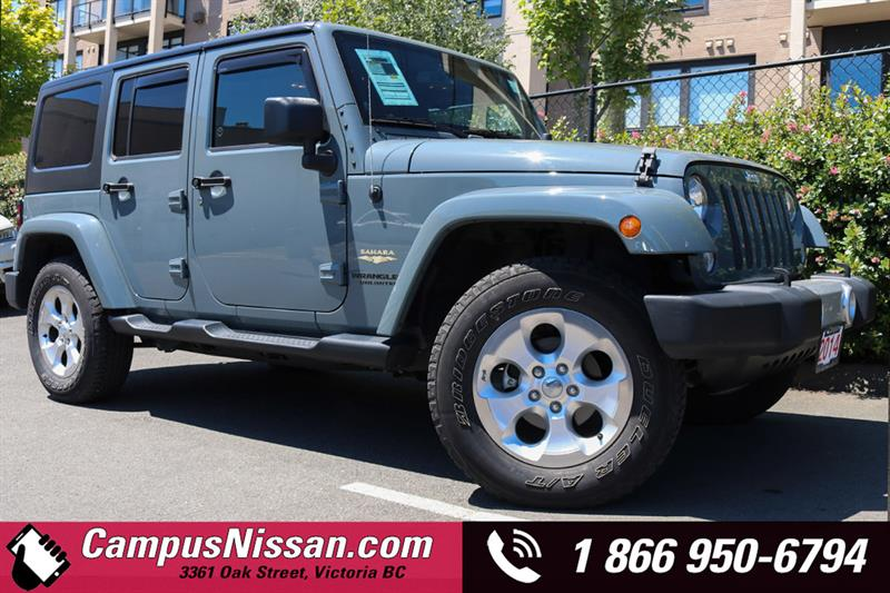 2014 Jeep Wrangler Unlimited 4WD 4dr Sahara #8-P194A