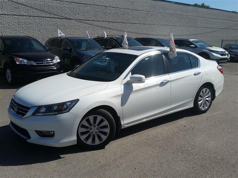 Honda Accord 2013 EX-L CUIR TOIT BCKUP CAM CERTIFIÉ 136.99*$/2sem #J0539A