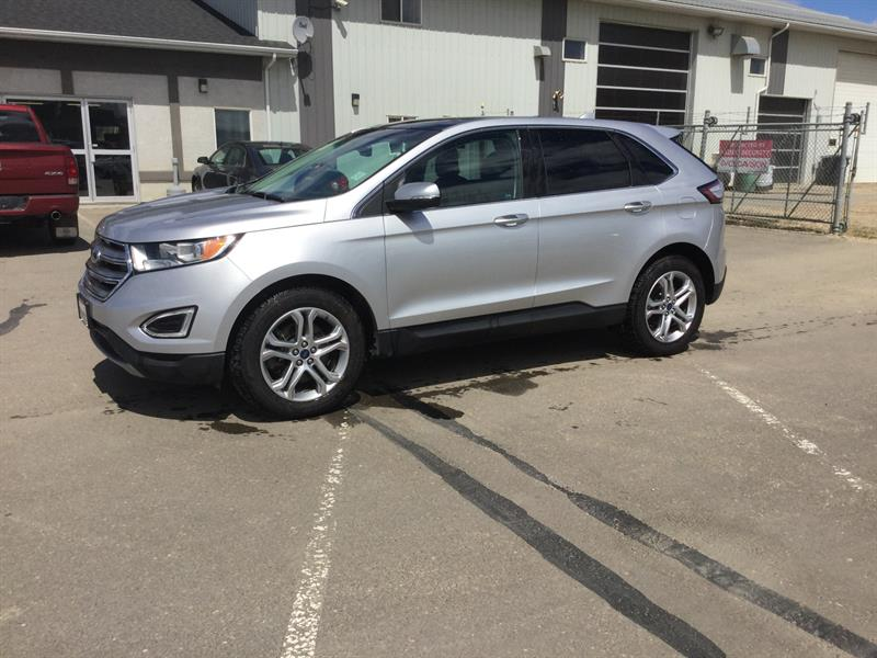 2015 Ford EDGE 4dr Titanium AWD #KB57245