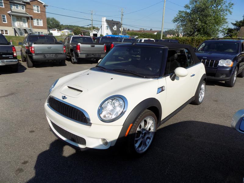 Mini Cooper Convertible 2010 2dr S #AD6947