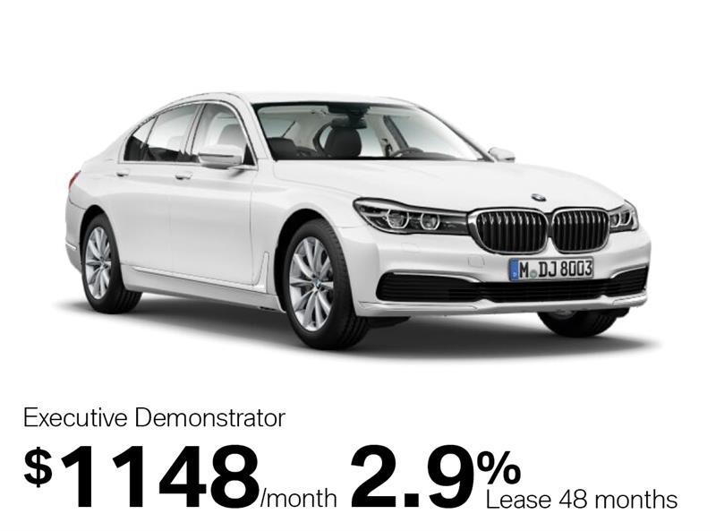 2018 BMW 7 Series 750i xDrive Sedan #J1476