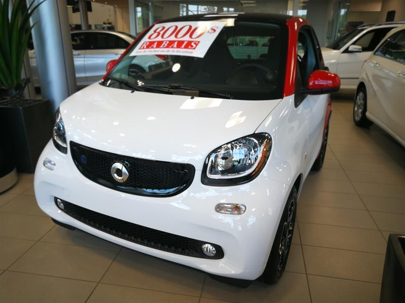 Smart fortwo 2018 electric drive cpé #18-0636