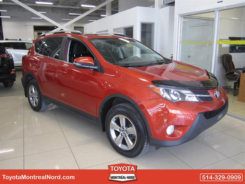 Toyota RAV4 2015  XLE AWD Toit+Mags #3221 AT