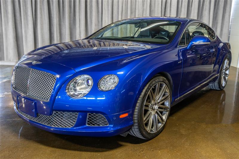 Bentley Continental GT Speed 2014 2 DOOR COUPE! GT SPEED!