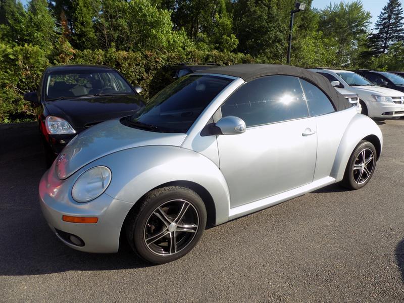 Volkswagen New Beetle Convertible 2006 2dr 2.5L #AD7001