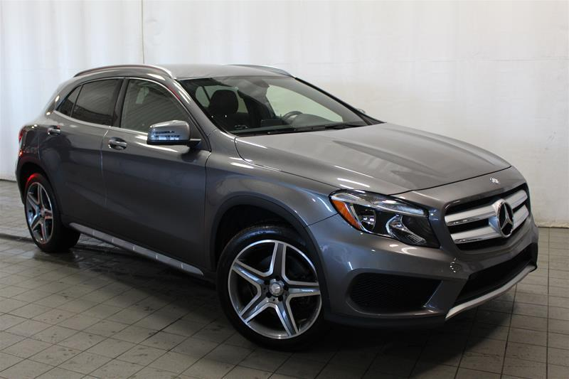 Mercedes-Benz GLA250 2015 4MATIC SUV *SPORT PACKAGE* #U18-248