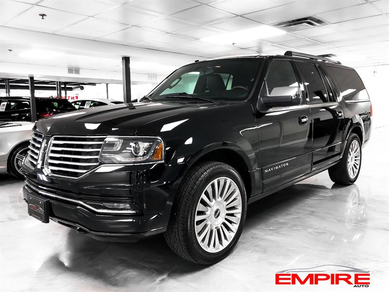 Lincoln Navigator 2016 4WD L Select 22''s Extended #A6721