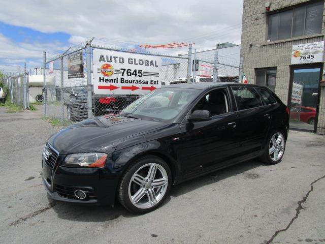 Audi A3 2011 S-LINE,TDI DIESEL, CUIR, TOIT PANO, EXTRA PROPRE! #18-852
