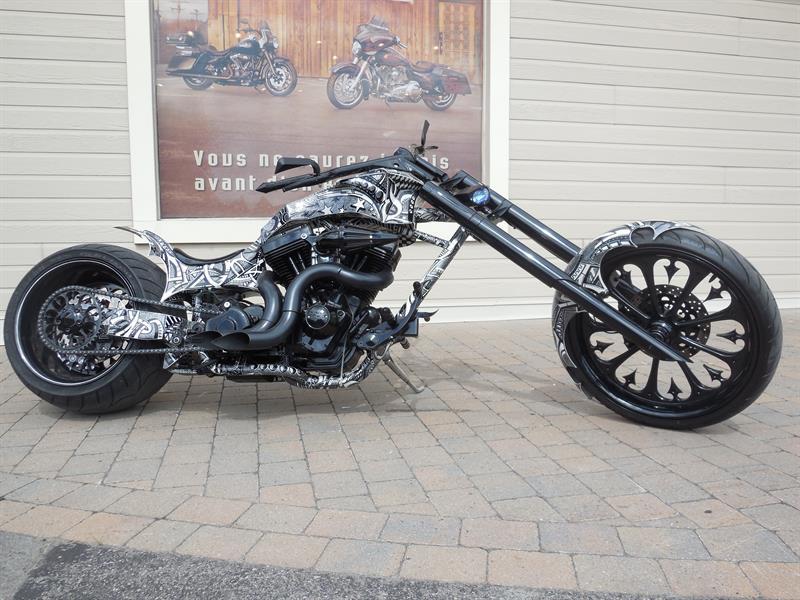 Harley Davidson ARTISANAL SOFTAIL 2014 RADICAL SHARPIE BIKE