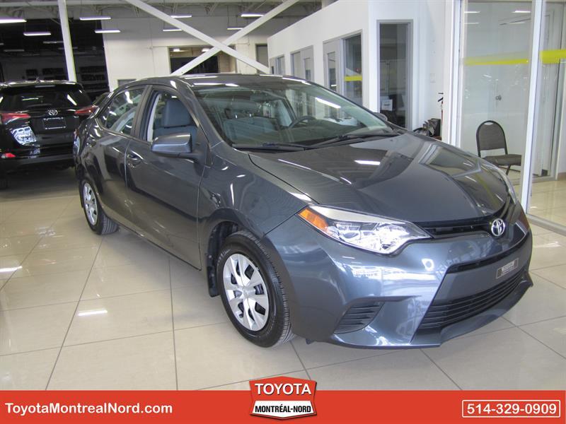 Toyota Corolla 2014 CE Aut/Ac/Vitres,Portes,Miroirs Electriques #3268 AT