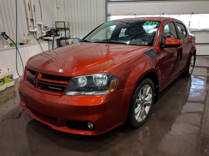 Dodge Avenger 2012 R-T ( V6 3.6L,CUIR, TOIT, ÉCRAN 6.5'' ,GPS)  #03997A