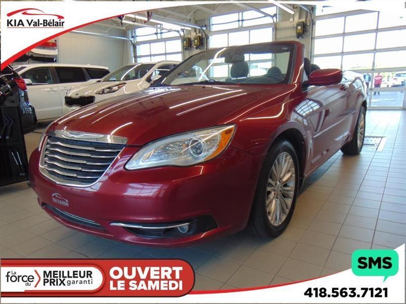 Chrysler 200 2011 TOURING* CONVERTIBLE* SIÈGES CHAUFFANTS* #V180242A