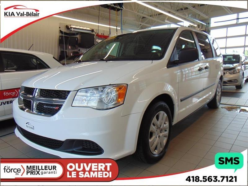 Dodge Grand Caravan 2015 SE* PLAN OR INCLUS* 7 PASSAGERS* #VU182