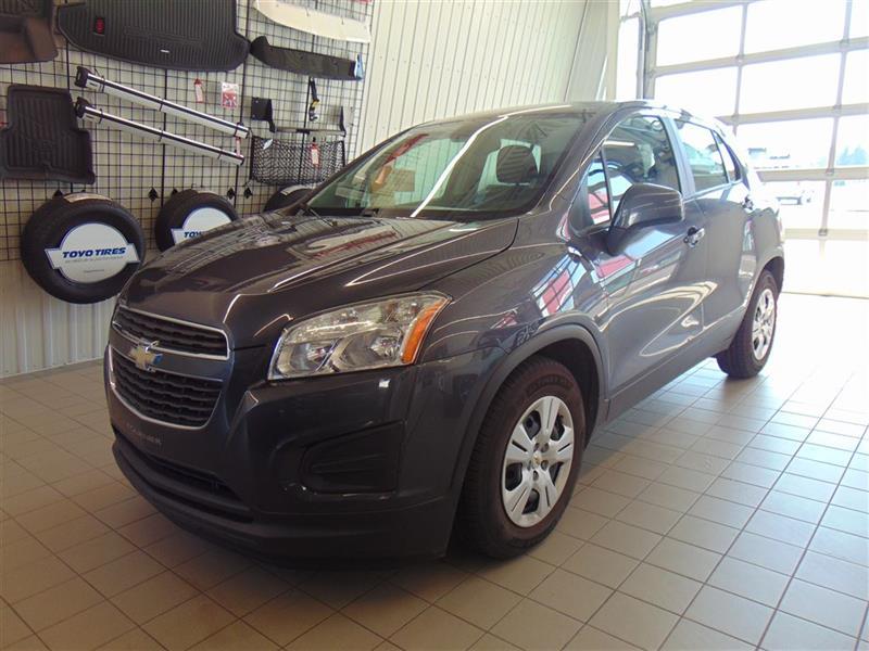 Chevrolet Trax 2013 LS* AUTOMATIQUE* GARANTIE PROLONGÉE* BAS KILO* #VU163A