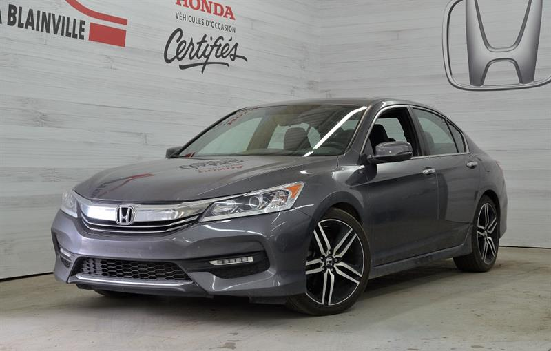 Honda Accord Berline 2016 4 portes Sport Automatique #U-1255