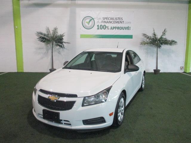 Chevrolet Cruze 2012 4dr Sdn LS avec 1SB #2320-06
