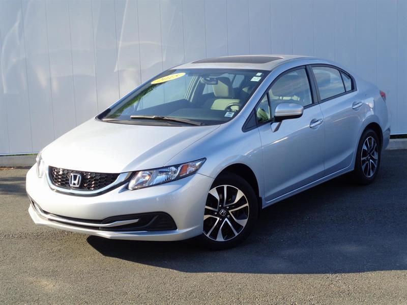 2015 Honda Civic Sedan EX+ 120K WARRANTY #L1005