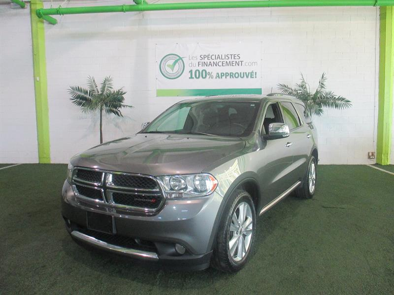 Dodge Durango 2013 4WD 4dr Crew Plus #2325-07