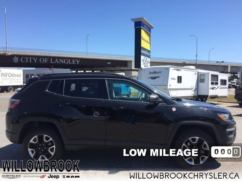 2017 Jeep Compass Trailhawk #18UP304