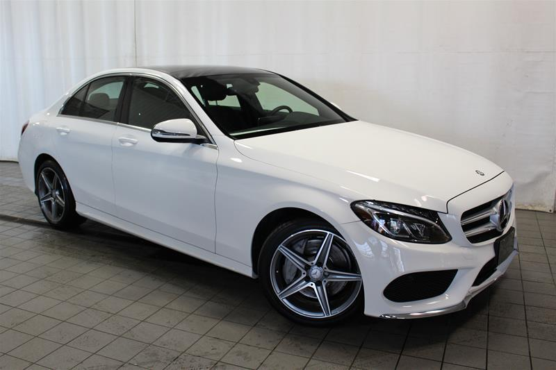 Mercedes-Benz C300 2016 4MATIC Sedan LED SPORT ET PREMIUM PACKAGE #U18-238
