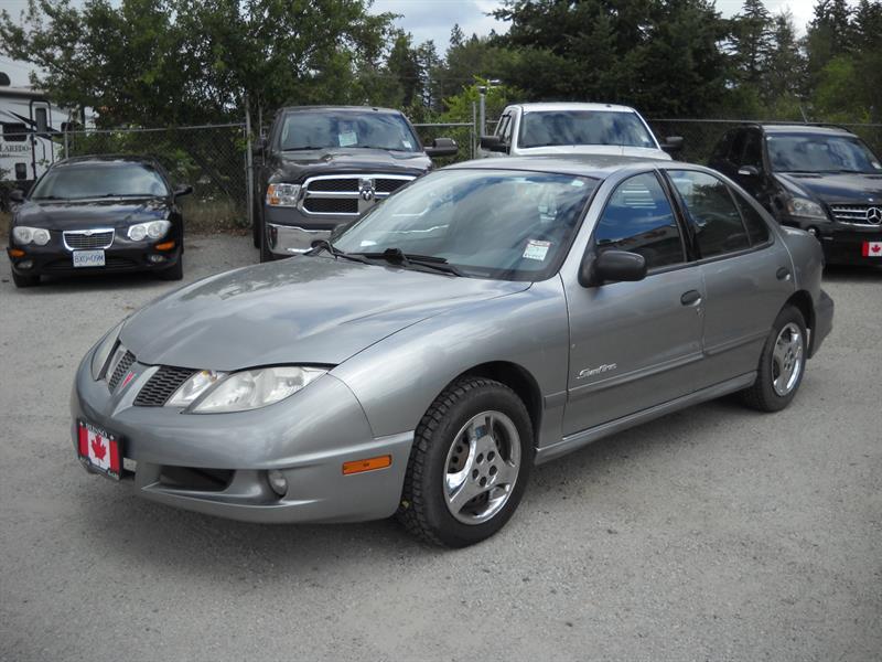 2005 Pontiac Sunfire 4dr Sdn LOCAL CAR! SENIOR OWNED!  #A8001
