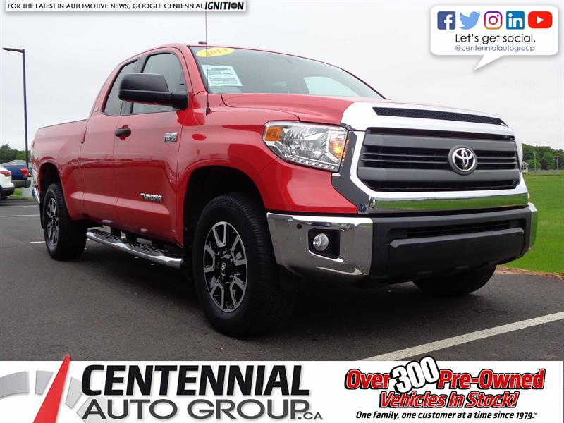 2014 Toyota Tundra SR5 TRD Off-Road | 4WD | ONE OWNER | #S18-118A