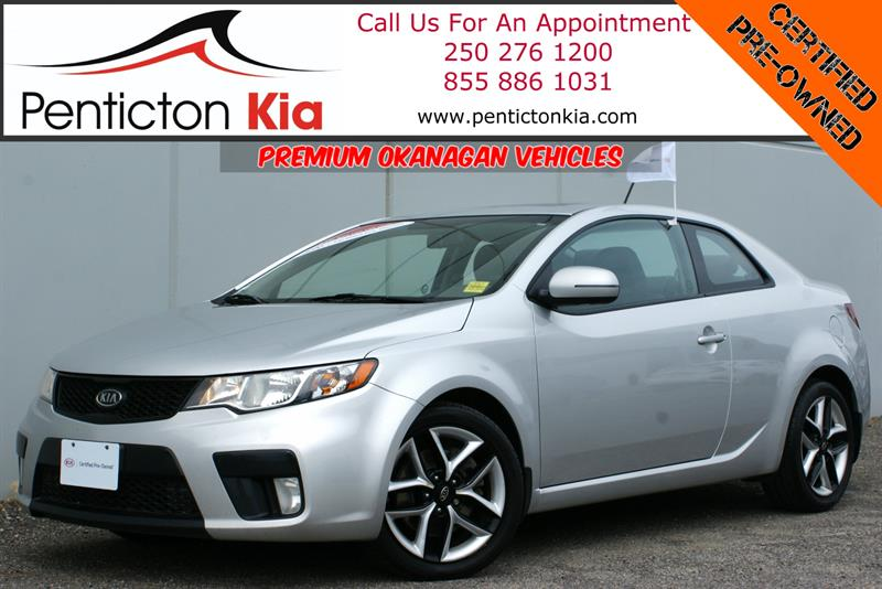 2013 Kia Forte Koup SX Power Sunroof, Heated Seats, Bluetooth #18PK26