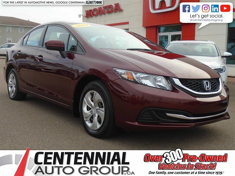 2014 Honda Civic Sedan LX | Bluetooth |  #9351A