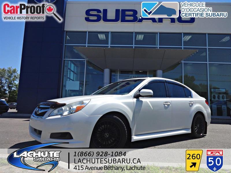 Subaru Legacy 2011 cuir , toit ouvrant, gps 3.6R w/Limited & Nav Pkg #18-412A