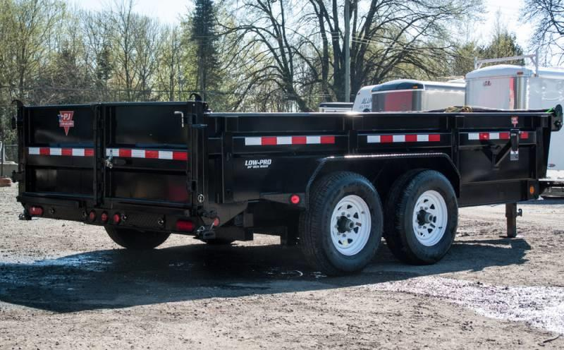 2020 Pj Trailers DL142 7X14 Dump New for sale Chilliwack