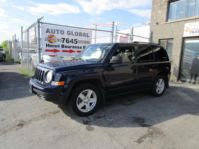 Jeep Patriot 2012 SPORT,FWD, AUT,MAGS, AIR CLIMATISÉ! #18-811