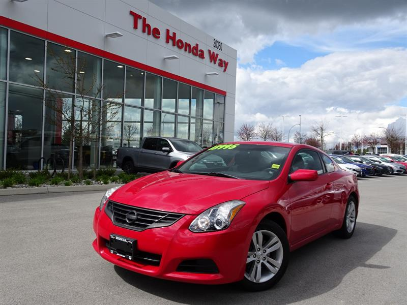 2012 Nissan Altima 2.5 S Coupe #17-807B