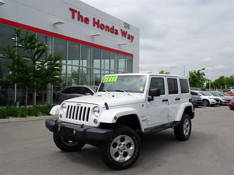 2015 Jeep Wrangler Unlimited Sahara 4WD #18-405B