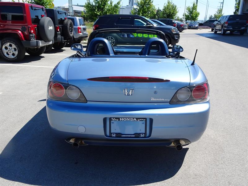 2002 Honda S2000 Roadster Used For Sale In Abbotsford At The Honda Way