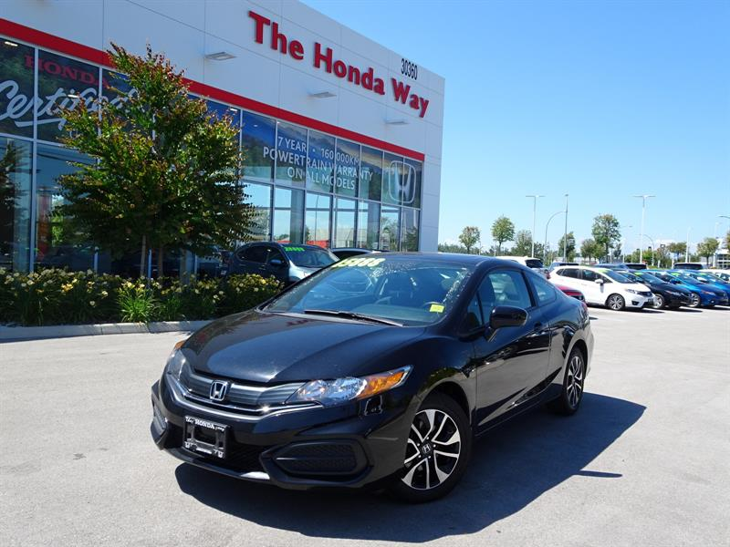 2015 Honda Civic LX Coupe 5-Speed MT-WARRANTY UNTIL 2022 OR 160,000 #18-653A