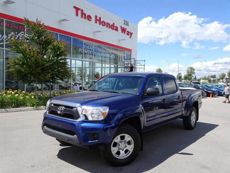2015 Toyota Tacoma Double Cab Long Bed V6 5AT 4WD #P5193