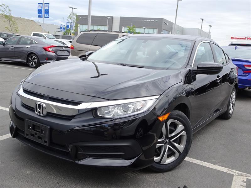 2016 Honda Civic Sedan LX CVT! Honda Certified Extended Warranty to #LH8084