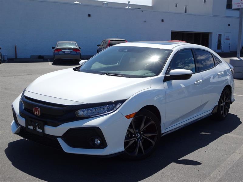 2018 Honda Civic Hatchback Sport Touring HS 6MT! Balance Of Factory #LR3824A