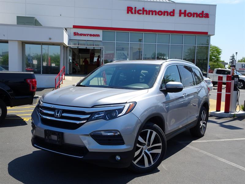 2016 Honda Pilot Touring 9AT AWD! Honda Certified Extended Warranty #LH8131