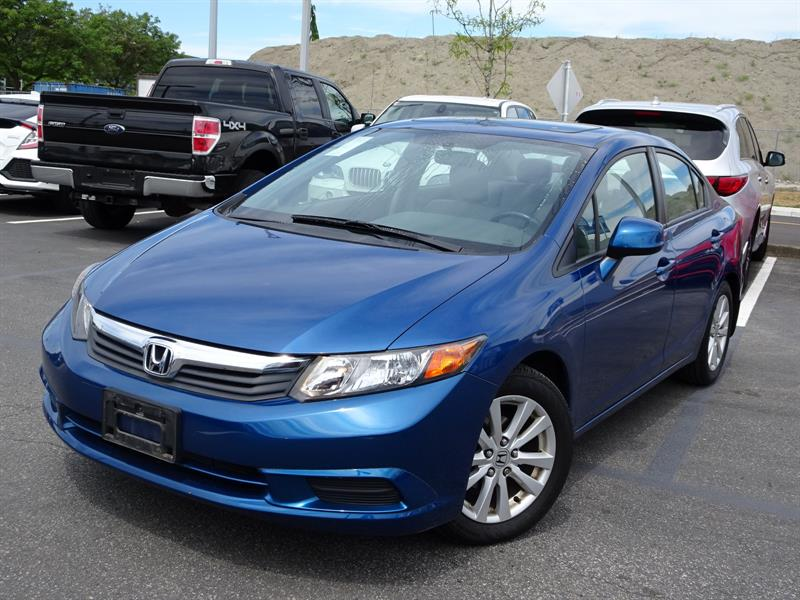 2012 Honda Civic Sedan Touring! 6 Month Powertrain Warranty Include #X1159A