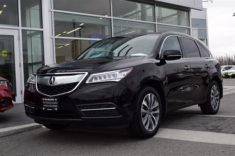 2016 Acura MDX SHAWD 4dr Navi Camera Bluetooth Sunroof #896597A